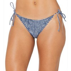 Sperry Juniors Gingham Side Tie Swim Bottoms