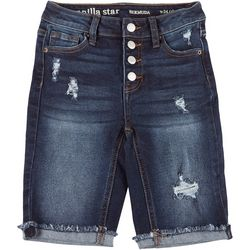 Vanilla Star Juniors Button Fly Bermuda Shorts