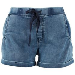 Juniors Low Rise Pull-on Shorts
