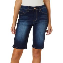 YMI Juniors Jade Luxe Lift Denim Bermuda Shorts
