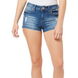 Royalty by YMI Juniors Deconstructed Shorts