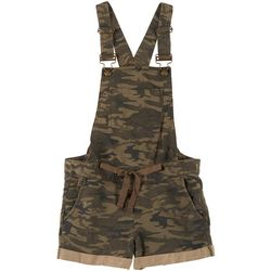 Blue Spice Juniors Camo Shortall