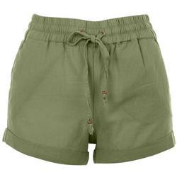Juniors Soft Bottom Casual Shorts