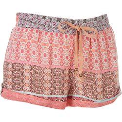 BOOM BOOM Juniors Super Soft Printed Shorts