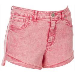 Juniors High Waisted Shorts