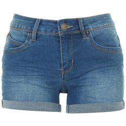 Royalty by YMI Womens WannaBettaButt Rolled Cuff Shorts