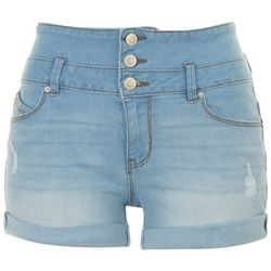 Royalty by YMI Womens Recicled Denim Shorts