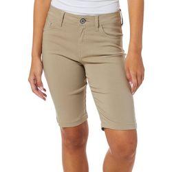 Dickies Juniors Solid Stretch Bermuda Shorts