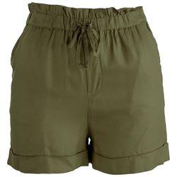 Golden Union Juniors Solid Paperbag Shorts