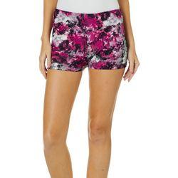 Hot Kiss Juniors Paint Splatter Pull On Shorts