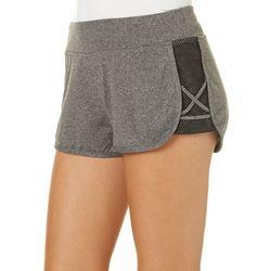 Hot Kiss Juniors Mesh Lattice Side Shorts
