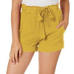 Indigo Rein Juniors Soft Paperbag Shorts