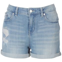 Indigo Rein Juniors High Rise Reycled Shorts