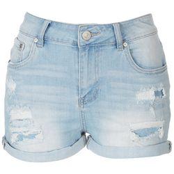 Indigo Rein Juniors Distressed Shorts