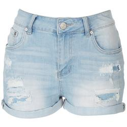 Juniors Distressed Shorts
