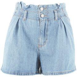 Indigo Rein Juniors Recycled Denim Paper Bag Shorts