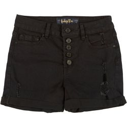 Indigo Rein Juniors Roll Cuff Shorts