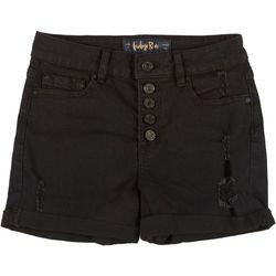 Indigo Rein Juniors Roll Cuff Shorts