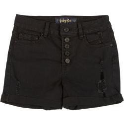 Juniors Roll Cuff Shorts