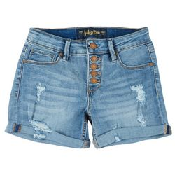 Indigo Rein Juniors Button Fly Cuffed Shorts
