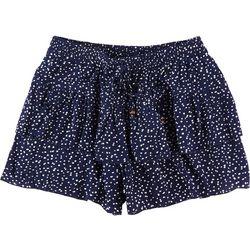 Wallflower Juniors Ruffle Layer Shorts