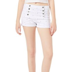Almost Famous Juniors High Rise Anchor Shorts