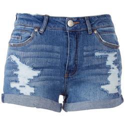 Juniors Cuffed Shorts