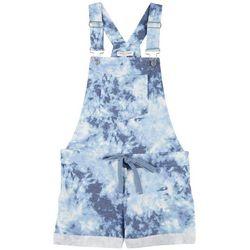 Full Circle Trends Juniors Tie Dye Shortall