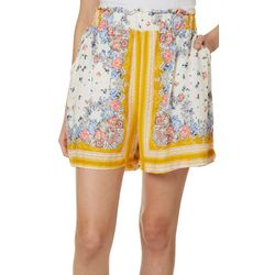 Taylor & Sage Juniors Floral Print Soft Shorts