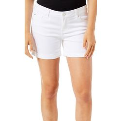 Celebrity Pink Juniors Solid Mid Rise Shorts