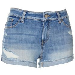 Juniors Destructed Shorts