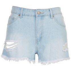 Rewash Juniors High Waisted Wedge Shorts