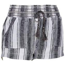 Rewash Juniors Mixed Stripe Linen Shorts