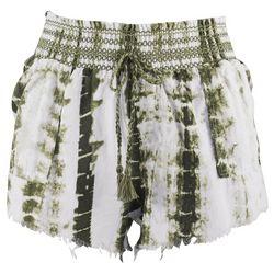 Rewash Juniors  Smocked Waist Shorts
