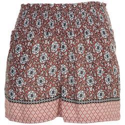 Juniors Mixed Floral Shorts