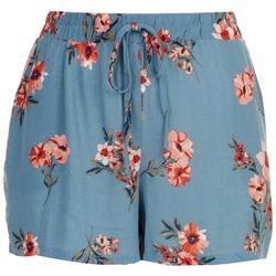 Juniors Floral Soft Shorts