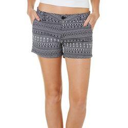Be Bop Juniors Floral Aztec Shorts