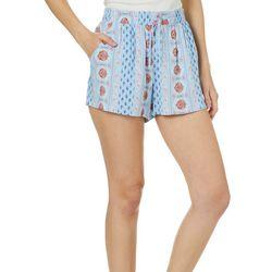 Be Bop Juniors Bohemian Print Soft Shorts