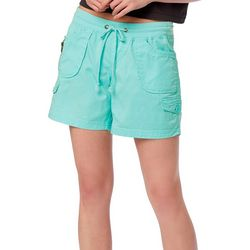 Juniors Christy Convertible Pull On Shorts