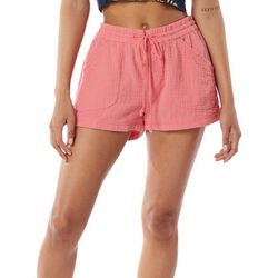 Supplies By Union Bay Womans Textured Look Shorts
