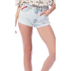 Unionbay Juniors Solid Roll Cuff Denim Shorts