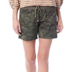 Unionbay Juniors Christy Camo Print Pull On Shorts