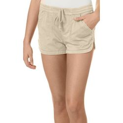 Unionbay Juniors Elastic Waist Cotton Shorts