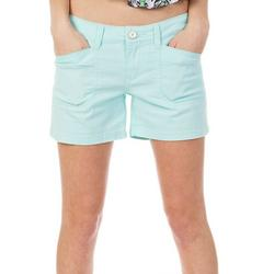 Juniors Darcy Solid Shorts