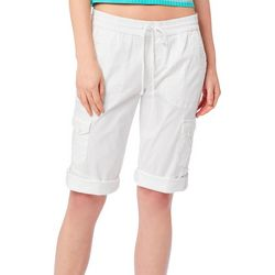 Unionbay Juniors Matilda Skimmer Convertible Pull On Shorts