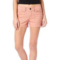 Unionbay Juniors Solid Twill Shorts