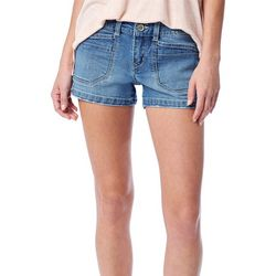 Juniors Mid-Rise Denim Shorts