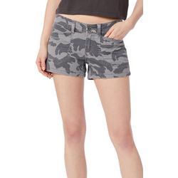 Juniors Delaney Camo Shorts