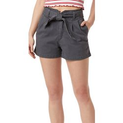 Unionbay Juniors Sterling Pleated Belted Shorts