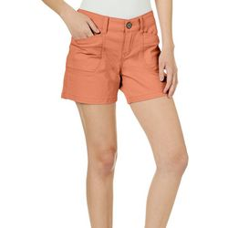 Unionbay Juniors Darcy Solid Shorts
